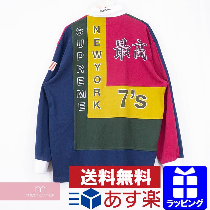 【全品15%OFF&クーポン!】Supreme 2020SS 7's Rugby シュプリーム セブンズラガーシャツ ポロシャツ 最高 マルチカラー サイズXL 【200525】【新古品】