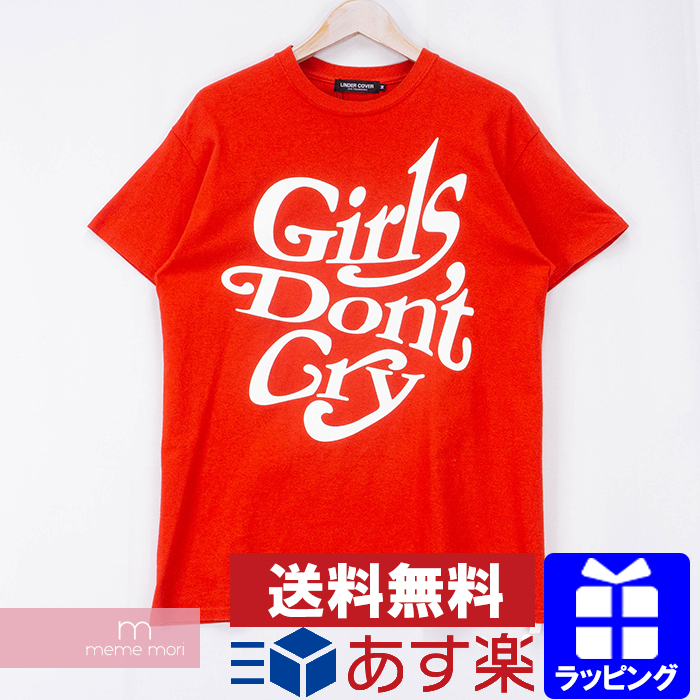 【全品15%OFF&クーポン!】Girls Don't Cry×UNDERCOVER 2018SS Logo T-SHIRT ガールズドントクライ×アンダーカバー ロゴプリントTシャツ 半袖 カットソー レッド サイズM 【200529】【中古-A】【me04】