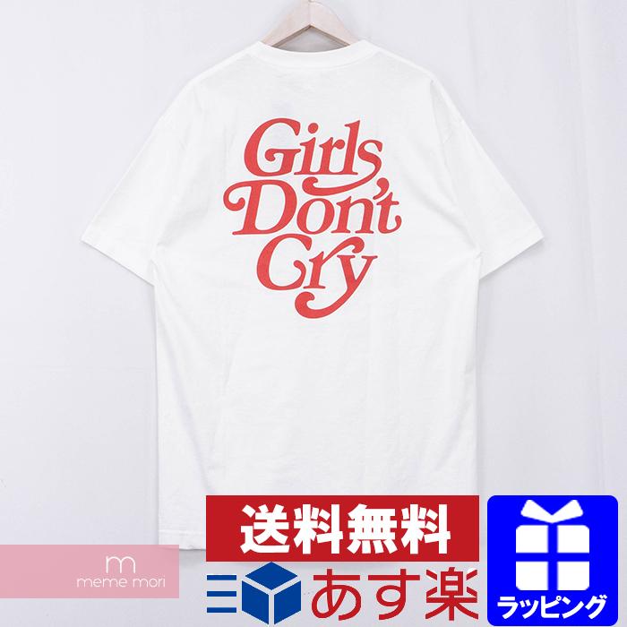 【全品15%OFF&クーポン!】Girls Don't Cry LOGO TEE ガールズドントクライ バックロゴTシャツ 半袖 カットソー ホワイト サイズXL【200602】【新古品】【me04】