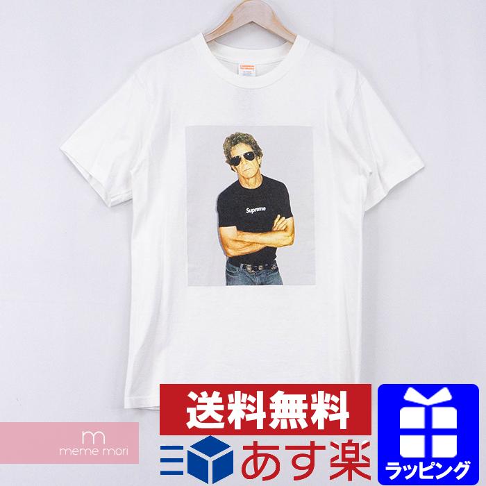 Supreme 2009SS Lou Reed Tee シュプリーム ルー・リードTシャツ 半袖カットソー フォトプリント ホワイト サイズM【200609】【中古-B】