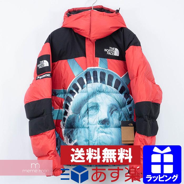 Supreme×THE NORTH FACE 2019AW Statue of Liberty Baltro Jacket NF047EW シュプリーム×ノースフェイス スタチューオブリバティ バルトロジャケット ダウンブルゾン 自由の女神 レッド サイズS プレゼント ギフト【191203】【新古品】