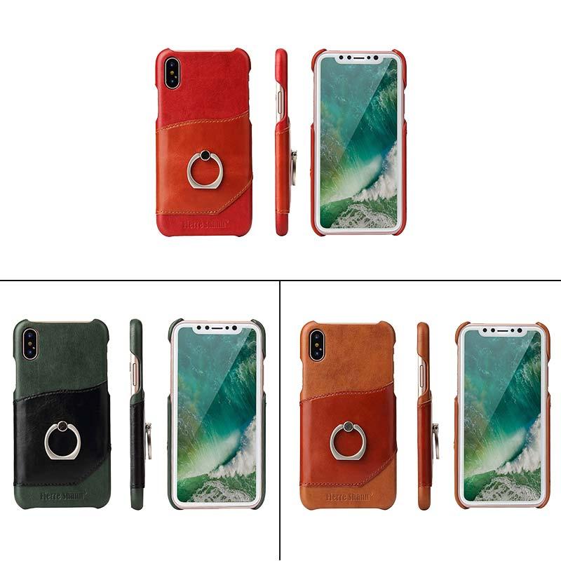 送料無料 翌日お届け 液晶保護フィルム付き スマホケース iPhone X スタンド機能 背面型 強化ガラス保護フィルム付き アイフォン レザーケース 選択 海外並行輸入正規品 超薄軽量
