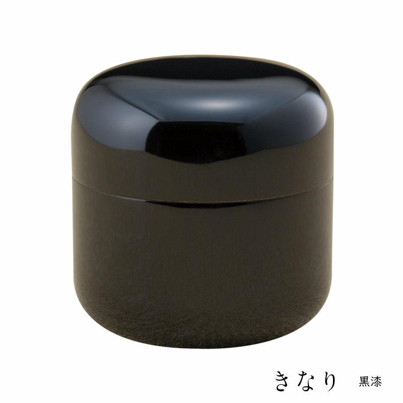 桜木大容量の本漆骨壷 「きなりシリーズ」黒漆 名入れ可 骨壷 骨壺 手元供養