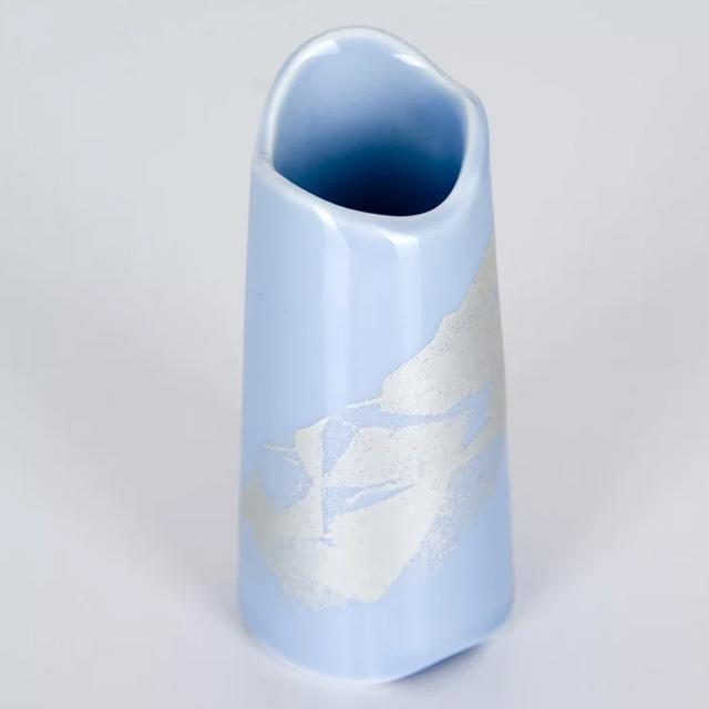 陶器製の美しい線香差しです。 【週末限定9月17日20時~全品ポイント3倍】陶器 まるか シンパープル 線香差し(線香立)