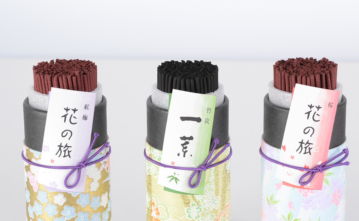 Gifts for incense flowers compared with the set of 3