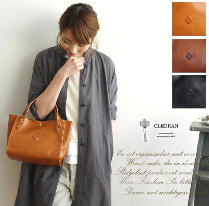 【予約商品】【CLEDRAN クレドラン】AMO SERIES / レザー トート バッグ (CL-1181) 【select】cl1181 正規品 レディース ハンドバック