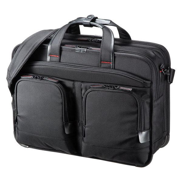 サンワサプライ エグゼクティブビジネスバッグPRO(大型ダブル) BAG-EXE12