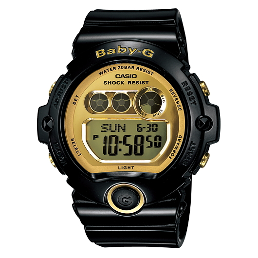 Casual watch BG-6901-1JF for the woman that CASIOBaby-G is active