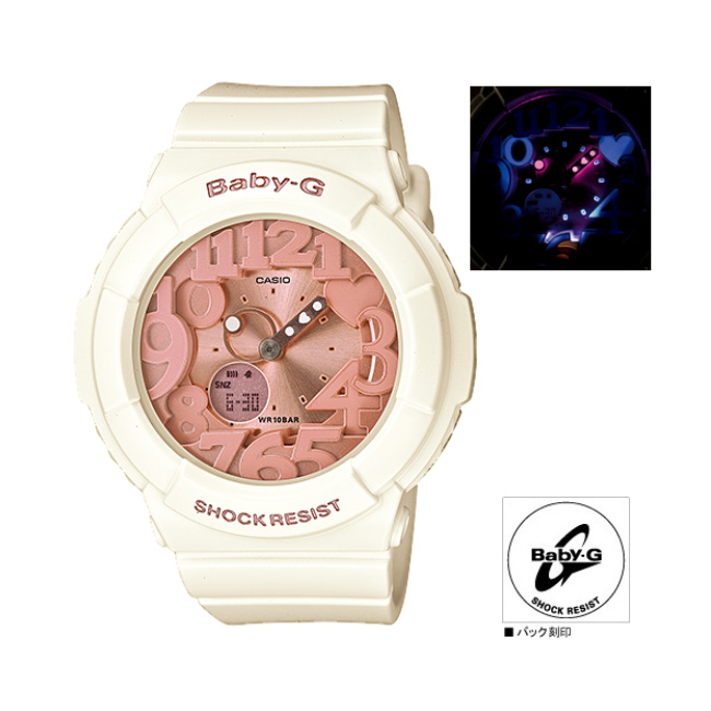 CASIOBaby-G Shell Pink Colors (shell pink colors) BGA-131-7B2JF