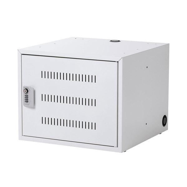 サンワサプライ ノートパソコン収納キャビネット CAI-CAB106W