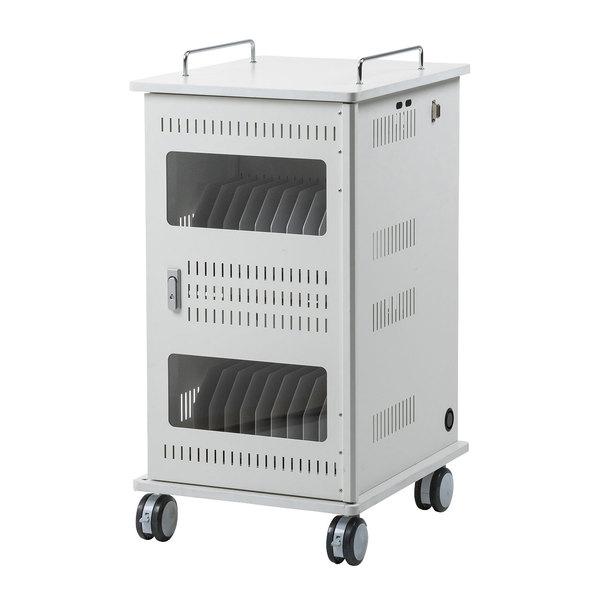 サンワサプライ タブレット収納保管庫(22台収納) CAI-CAB55W