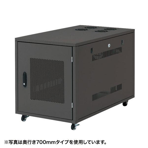 サンワサプライ 19インチサーバーボックス(12U) CP-SVNC4