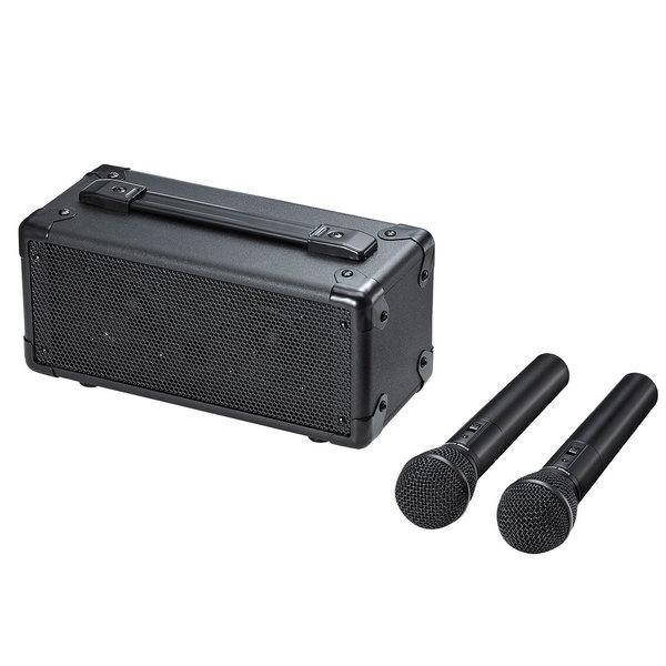 サンワサプライ ワイヤレスマイク付き拡声器スピーカー MM-SPAMP7