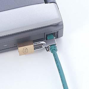 三和 LAN 电缆锁 SL 39