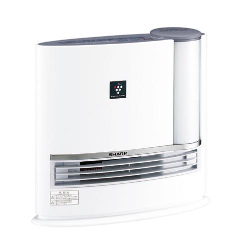 【新品】【暖房器具】SHARP(シャープ) 加湿セラミックファンヒーター HX-H120-H プラズマクラスター7000搭載 HXH120H(グレー系)【あす楽対応_九州】【smtb-MS】