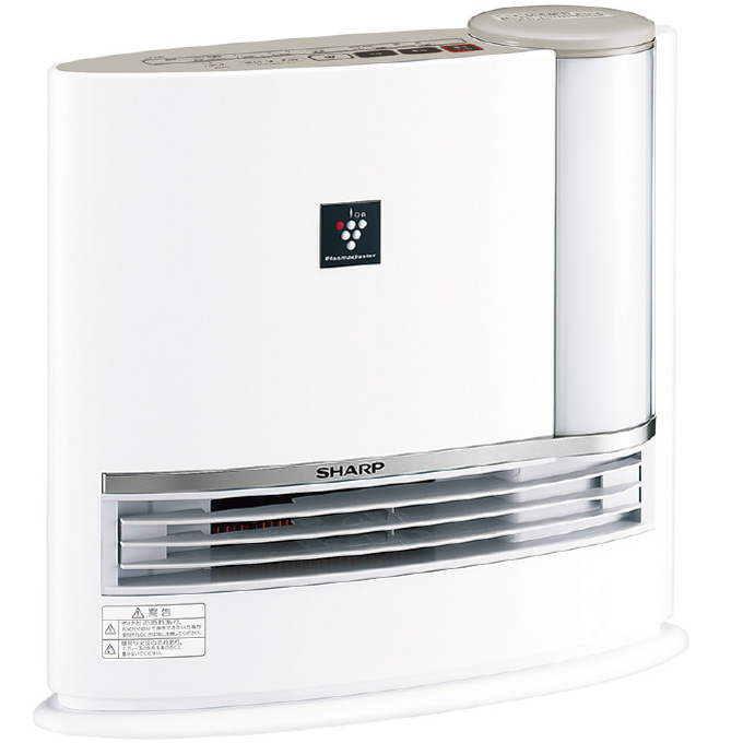 【新品】【暖房器具】SHARP(シャープ) 加湿セラミックファンヒーター HX-J120-C プラズマクラスター7000搭載 HXJ120C(ベージュ系)【あす楽対応_九州】【smtb-MS】