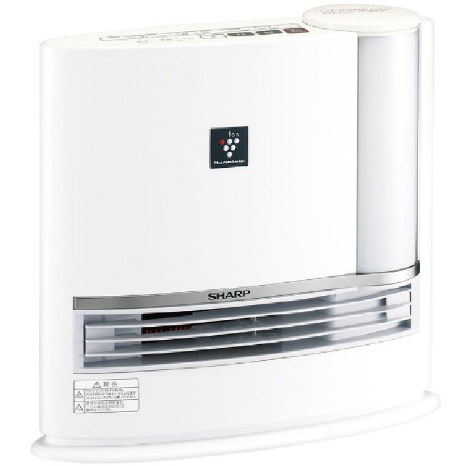 【新品】【暖房器具】SHARP(シャープ) 加湿セラミックファンヒーター HX-J120-W プラズマクラスター7000搭載 HXJ120W(ホワイト系)【あす楽対応_九州】【smtb-MS】