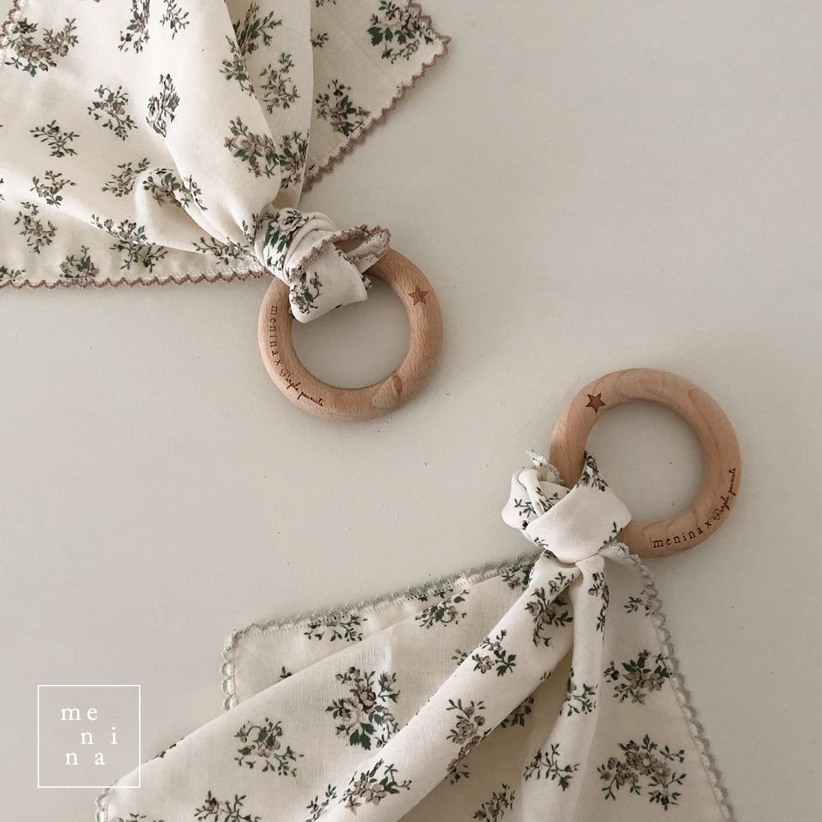 歯固めリング&flowersハンカチセット