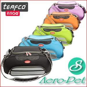 ペット用キャリーバッグ エアロペット Sサイズ【QUOカードプレゼント】☆体重4.5kgまでの猫ちゃんや超小型犬に!おしゃれなセミハードタイプのキャリーバック・アメリカ teafco社argo AERO-PET