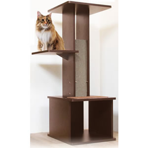 necoco ネココ スリムで壁ぎわに置きやすい キャットリビングタワー
