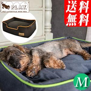 P.L.A.Y. ラウンジベッド アーバンプラッシュ Mサイズ (同梱不可)おしゃれ&あったか 小型犬や猫ちゃんにラウンド・タイプのアメリカのデザイナーズ・ベット URBAN PLUSH