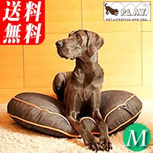 P.L.A.Y. ラウンドベッド アーバンデニム Mサイズ(沖縄・離島への配送不可)おしゃれ&あったか 中型犬や大型犬、小型犬の多頭飼にもラウンド・タイプのアメリカのデザイナーズ・ベット URBAN DENIM(同梱不可)
