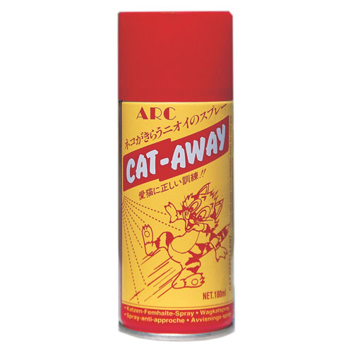 ARC キャットアウェイ スプレー 180ml☆猫に来られて困るところにシュッと一噴き!CAT-AWAY