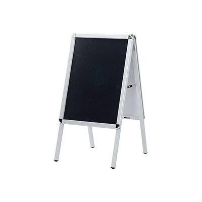【ブラックボード&ポスタースタンド(2WAY)(ポスターサイズ:A2)】 PAS-A2 黒板 ブラックボード 業務用 ポスタースタンド 看板 A型看板 sh【個人宅配送不可】