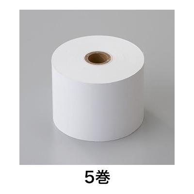 【レジ 紙 替え レシート】 【レシート】レジペーパー 感熱 58R×80×17.5