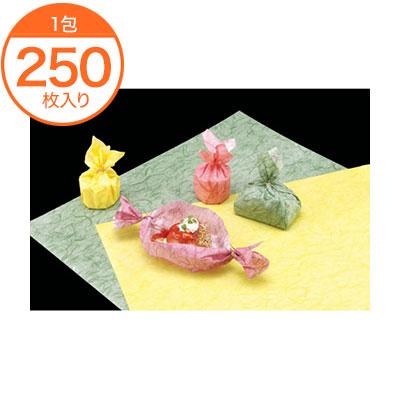 【包装紙】 6516 麦包ラミネートラッピングペーパー #141-R レッド 250枚