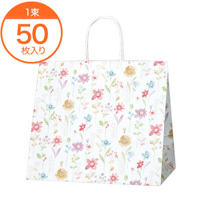 【手提袋】 25CB 32-4 フラワーアラカルト(チャームバッグ) 50枚