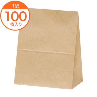 角底袋 ハイバック角底袋 H300 舗 100枚 驚きの値段 未晒無地