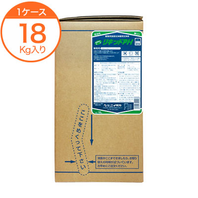 【食器洗浄機用洗浄剤】 リキッドPH 扁平ハイテナー 18kg 1箱