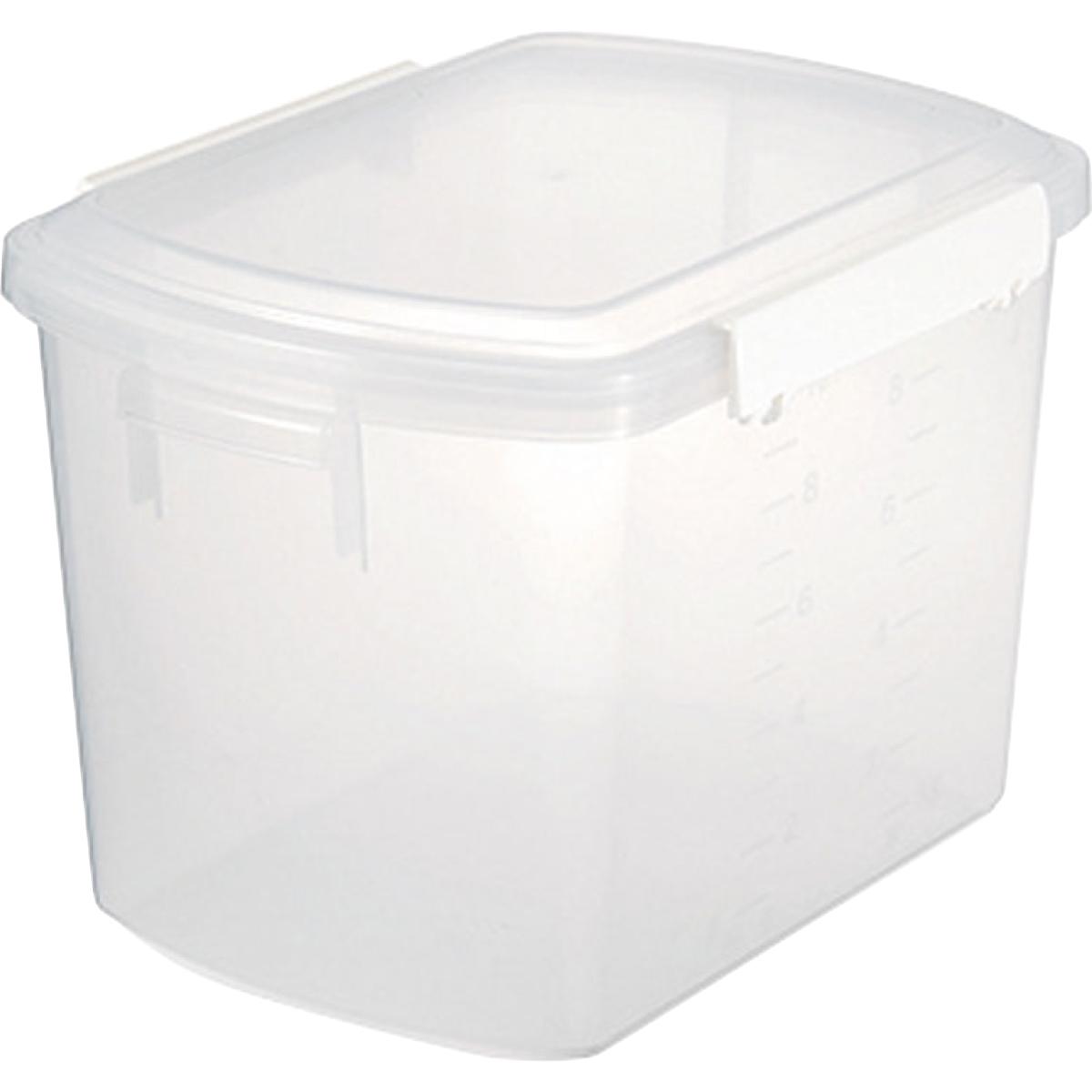 推奨 お求めやすく価格改定 シール容器 プラスチック保存容器 料理道具 業務用 シールストッカー C-28 ホワイト