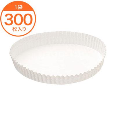 【ベーキングカップ】 純白ペット 118 300枚