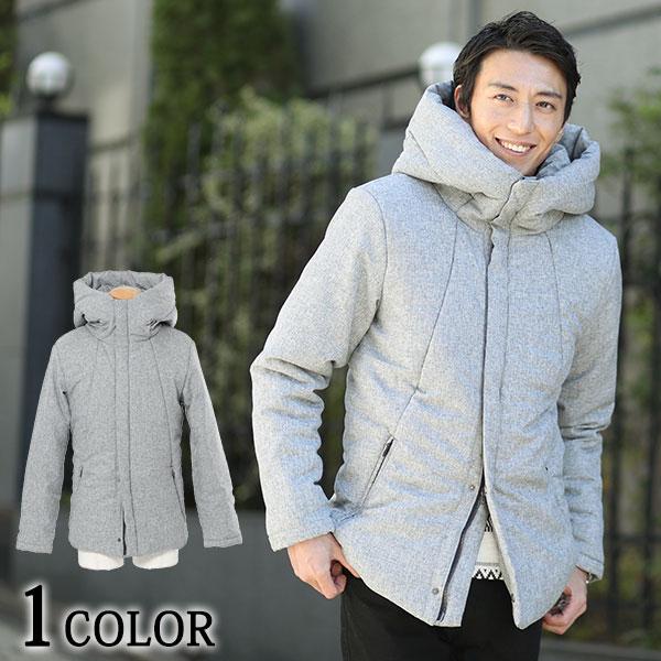 送料無料 ビッグフードデザイン中綿ジャケット