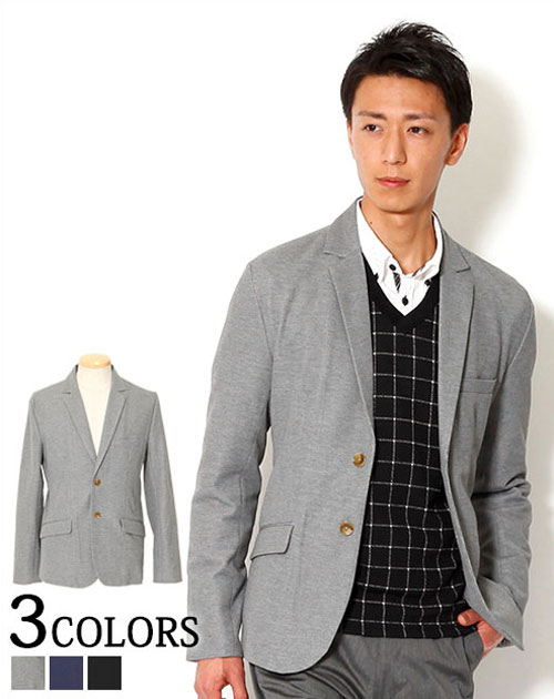 送料無料 テーラードジャケット ジャケット メンズ テーラード 黒 xl 大きいサイズ  メンズファッション