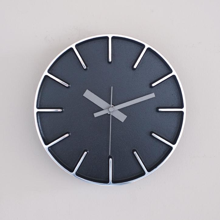 【 送料無料 レムノス】edge】【Lemnos Sサイズ レムノス】edge clock エッジクロック 送料無料 Sサイズ ブラック【AZ-0116 BK/AZUMI/掛け時計/ウォールクロック/デザイナーズクロック/アルミニウム/鋳物】, フエフキシ:4d26255d --- jpscnotes.in