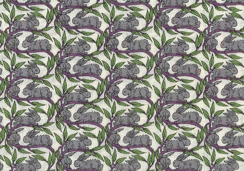 LIBERTY by liberty prints, thank you note liberty cotton linen sheeting fabric: Cotton Tail] (Cottontail) 3332262S-J13C