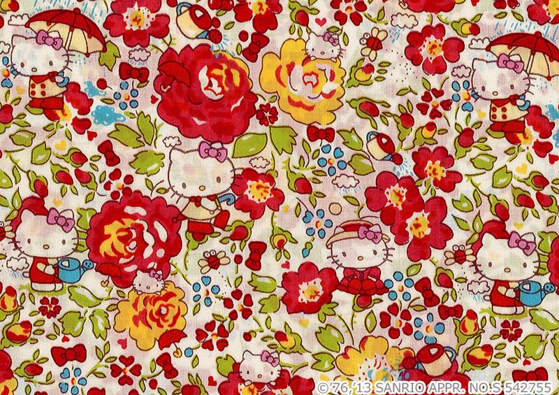 你好凯蒂自由艺术织物上赛季 (最好选择) x ~ < 菲 Hello Kitty > (felicitejalochiti) DC27904 J13C