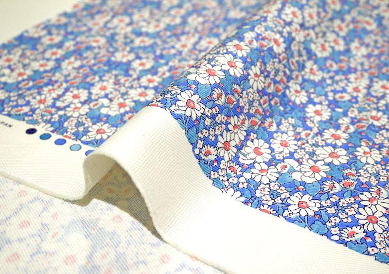 LIBERTY自由印刷、E1粗斜纹布布料<Alice W>(爱丽丝、W)3635152-15AD自由布料)