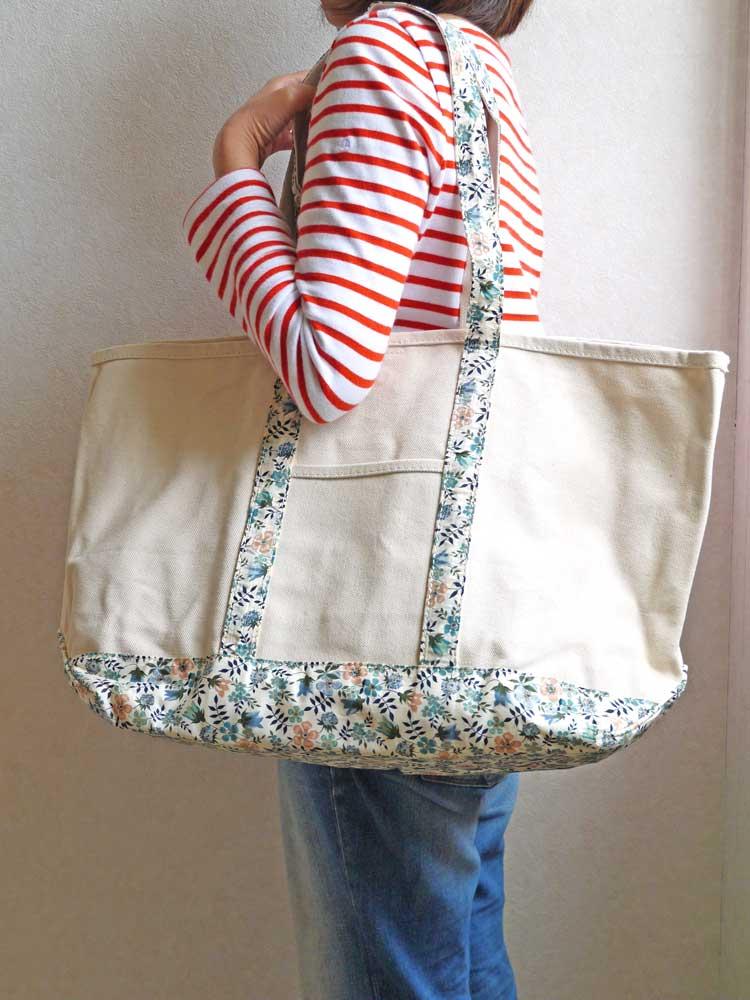 f422a6e3c ... Tote bag (L) Mothers bag <Betsy> using the LIBERTY Liberty print  ...