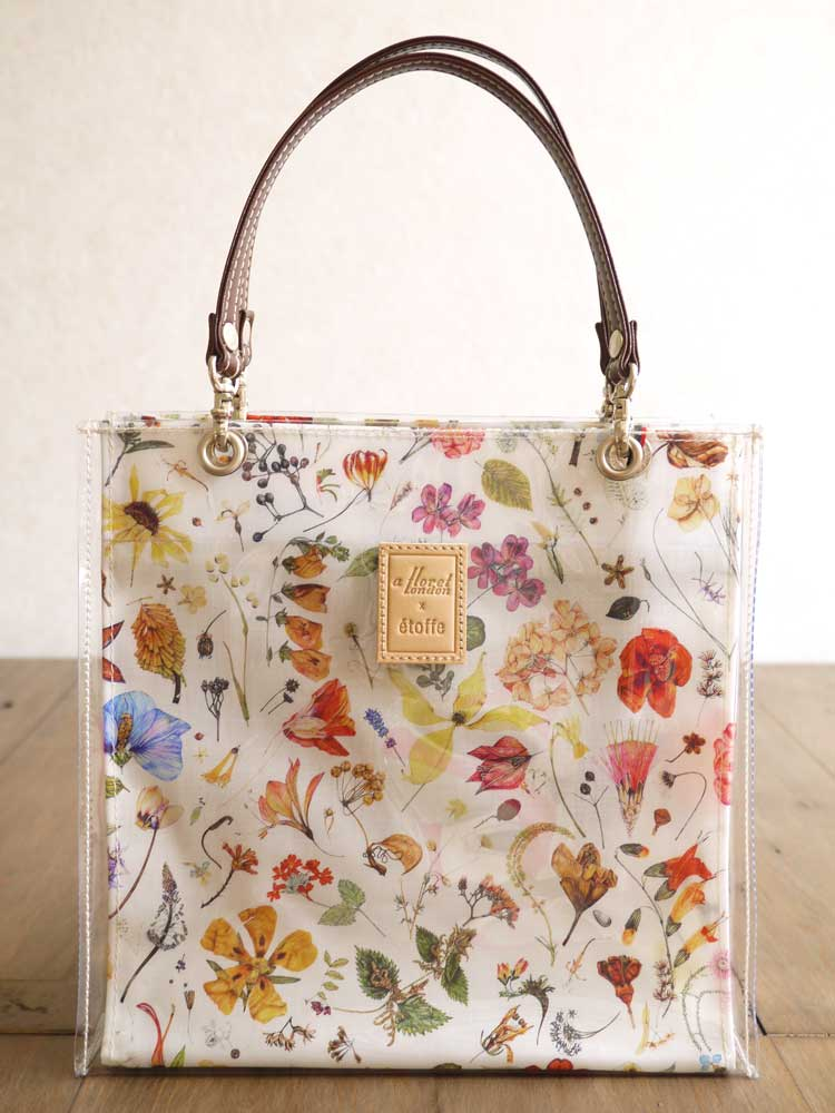 05140a053 LibertyShop MERCI: Tote bag <Floral Eve> (floral Eve) IV ivory ...