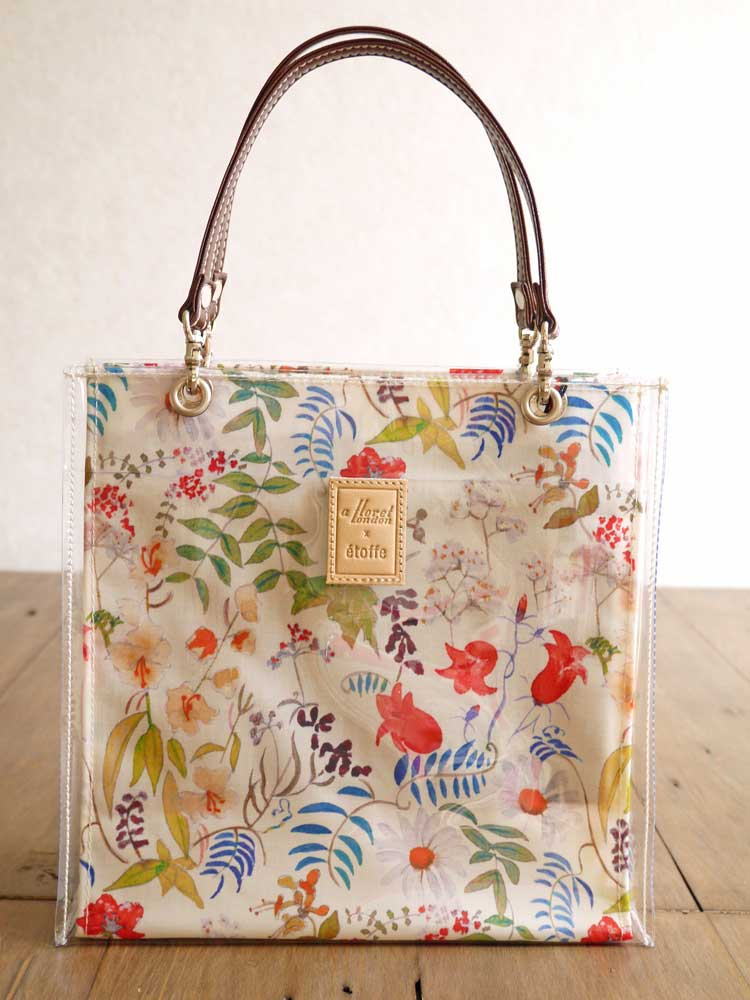 3cb79824c Tote bag <Chartwell> (chart well) RE red 947521 using the LIBERTY ...