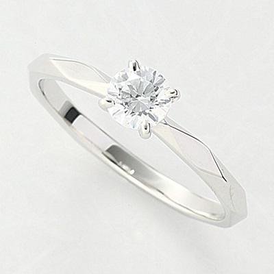オーダーメイドジュエリー エンゲージリング Pt900/プラチナ 1粒ダイヤモンド VS-2/D~Fカラー(D/0.3ct)4本爪 リング 指輪 婚約 結婚 マリッジ