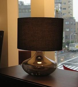 アクア テーブルランプ ブラック ホワイト Acqua table lamp ディクラッセ DI CLASSE デザイン 照明器具【送料無料】