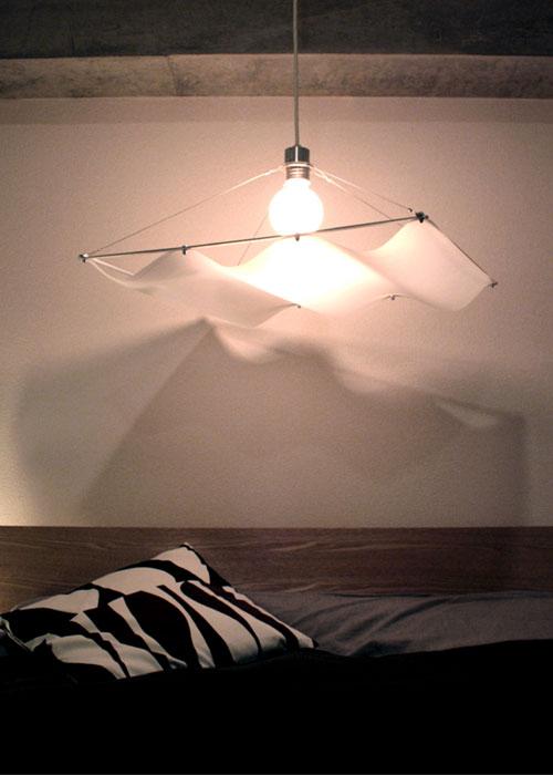 オンダ ペンダントランプ ホワイト 1灯M Onda pendant lamp M1 ディクラッセ DI CLASSE デザイン 照明器具【送料無料】