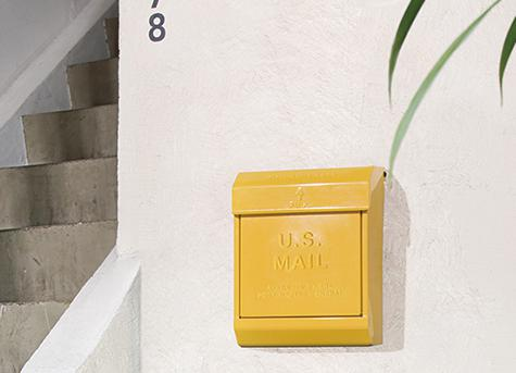 旗あり(エンボスあり)ARTWORKSTUDIO アートワークスタジオ インテリアグッズ U.S. Mail box 2(ユーエスメールボックス2)【送料無料】