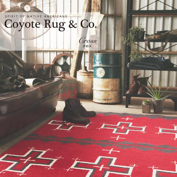 ARTWORKSTUDIO Coyote Rug コヨーテラグ  Cross クロス柄【送料無料】