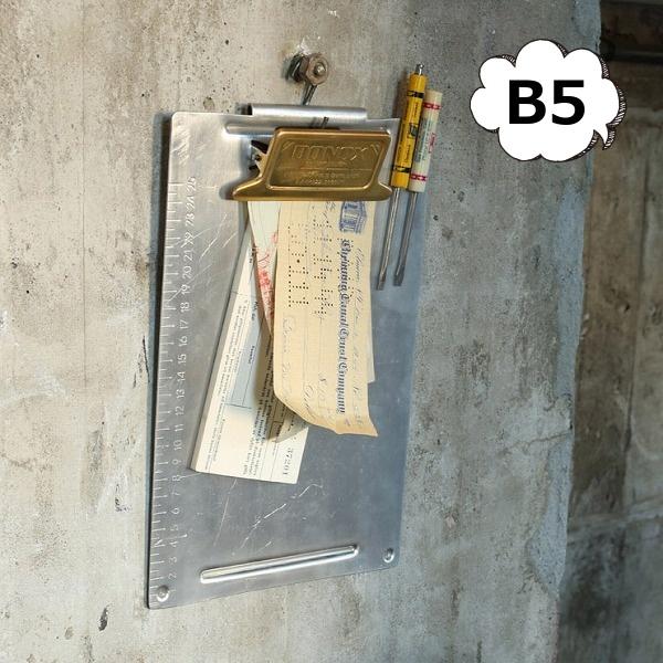 文具 ステーショナリー 生活雑貨 バインダー メタル クリップボード B5 ゴールド 117-330B5-BS 定番から日本未入荷 シルバー 低廉 DULTON ダルトン アンティーク風 ブラス